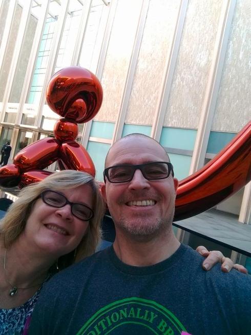 LACMA Baloon Sculpture