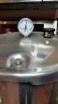 Dial gauge pressure canner