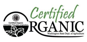 WSDA Certified Organic